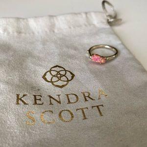 Kendra Scott Pink Kyocera Opal Ring